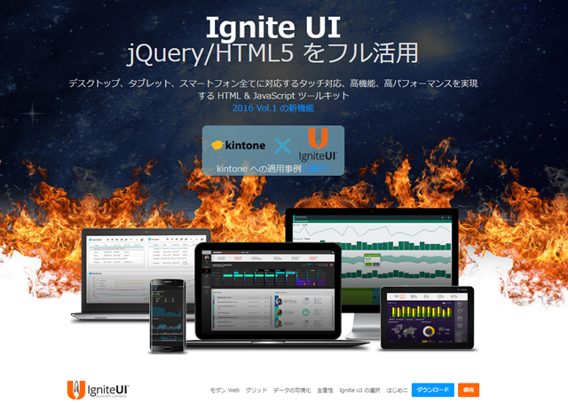 ignite ui