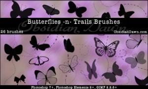 蝶の無料素材13