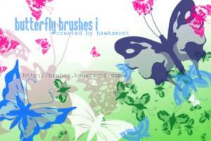 蝶の無料素材3