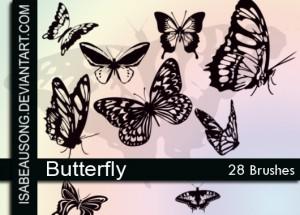 蝶の無料素材4