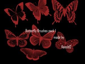 蝶の無料素材5