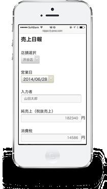 モバイル売上日報
