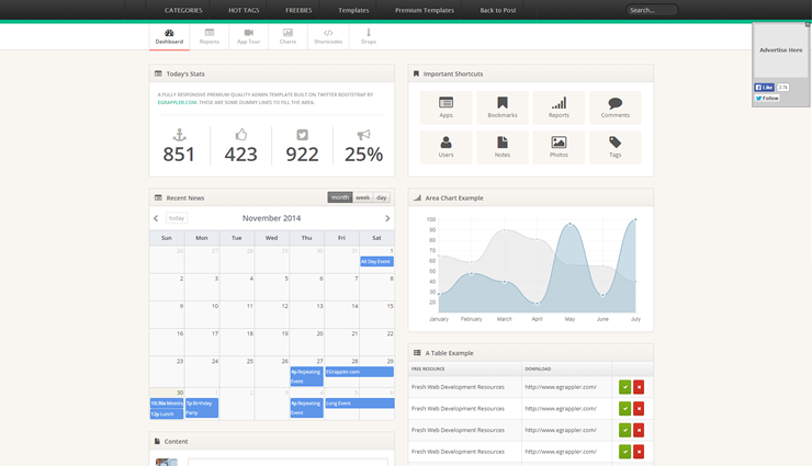 Bootstrap-Admin-Template