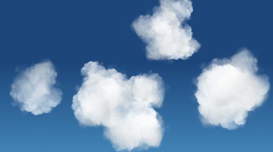 雲のCSSアニメーション