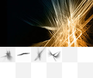 Abstract Brush Pack