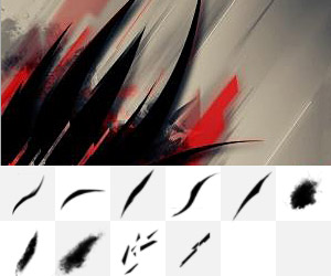 assassin-brush-set
