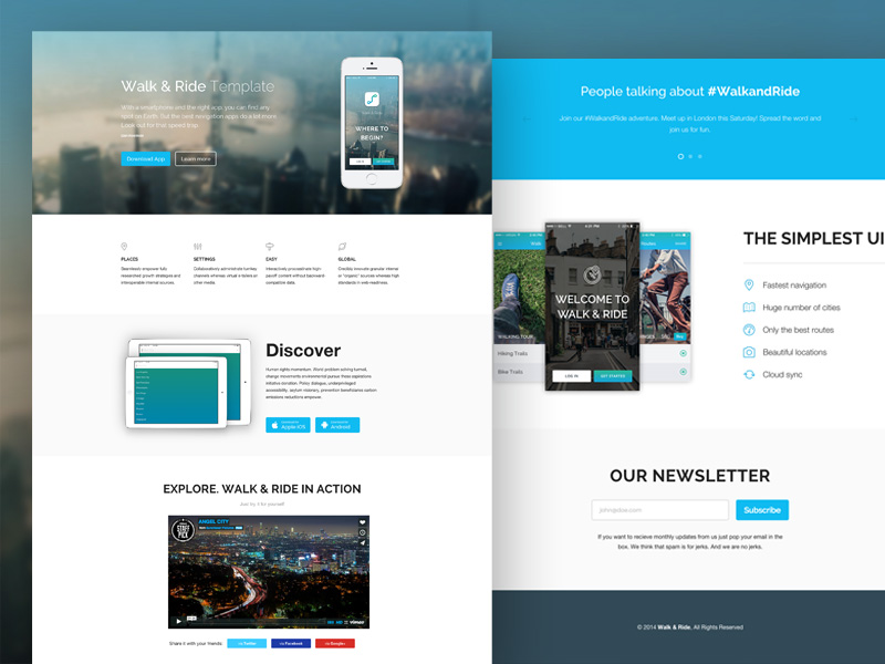 responsive template_WalkRideTemplatePreview