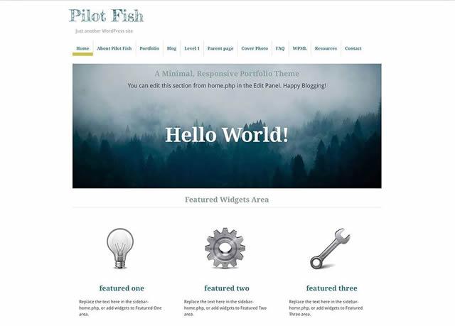 pilot-fishパララックステンプレート