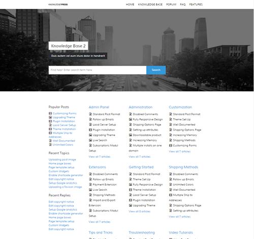 Knowledge Base | Wiki | FAQ WordPress Theme