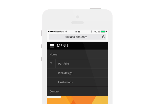 MOBILE.NAV – RESPONSIVE MENU PLUGIN