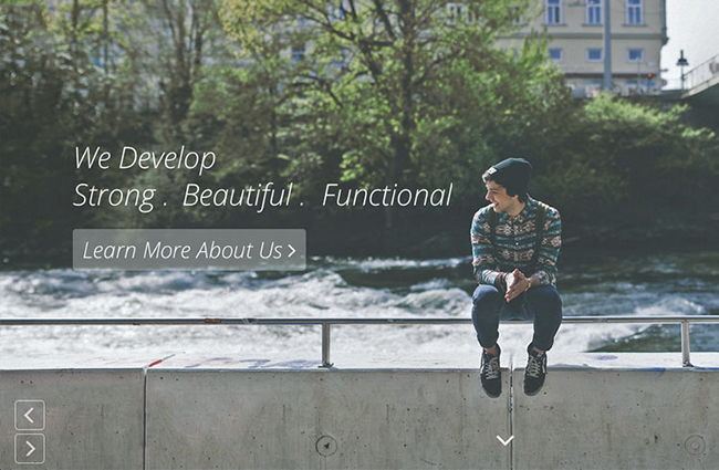 Bondy — Free Multipurpose Bootstrap 3 One Page