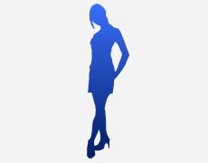 女性シルエット