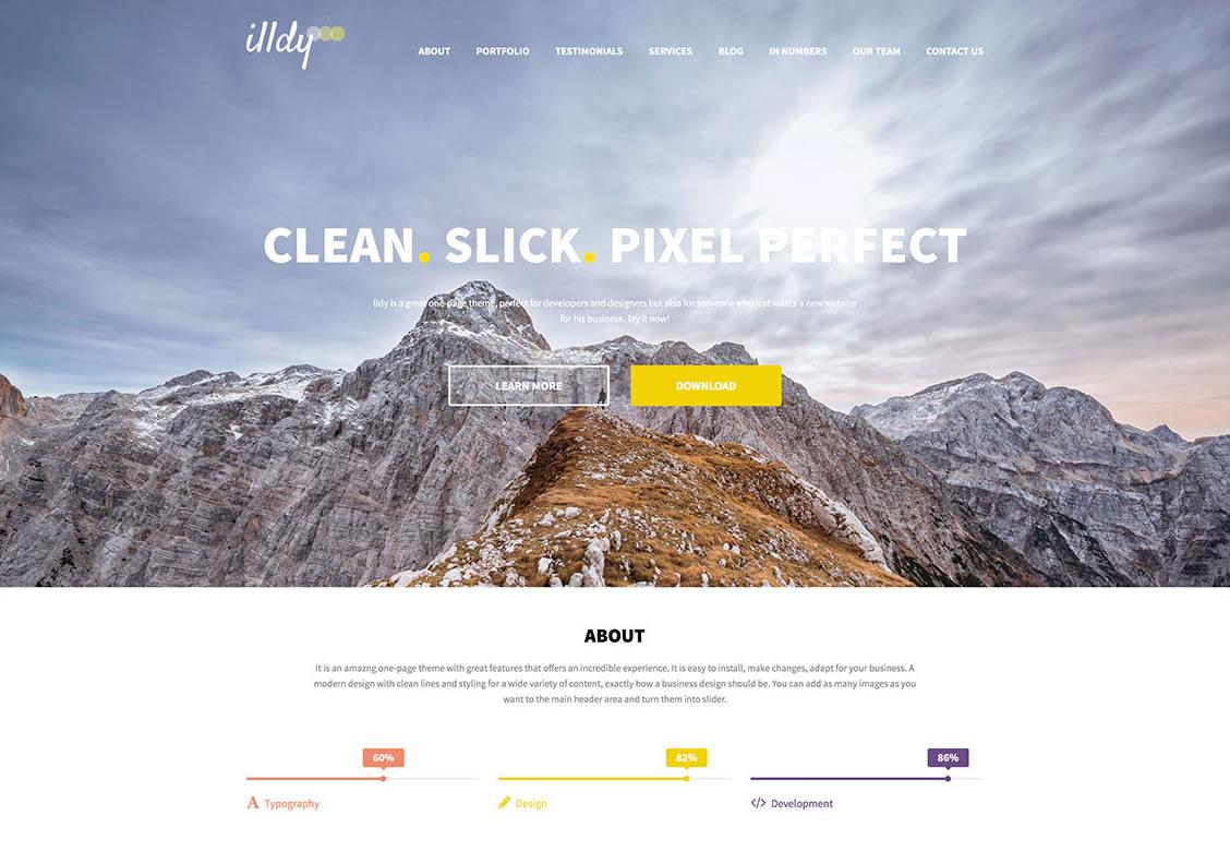 illdy-free-one-page-wordpress-theme