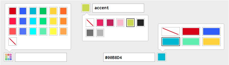 カラーピッカーライブラリ「JQuery Palette Color Picker」
