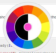 カラーピッカーライブラリ「Tiny Colorpicker」