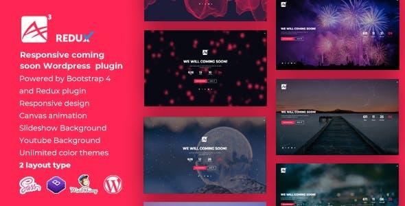 A3    Countdown Responsive WordPress Coming Soon Plugin